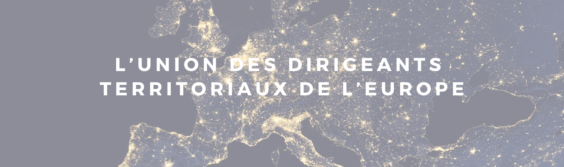 L'union des dirigeants territoriaux de l'Europe